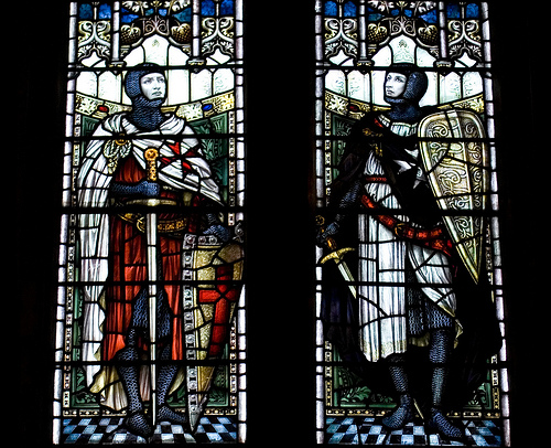 Stained Glass Windows, Temple Balsall