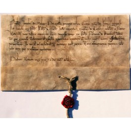 letter from Jacques de Molay