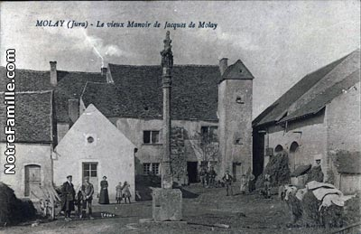 The old Manor of Jacques de Molay