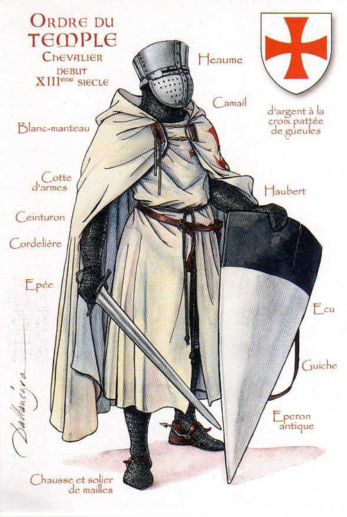 Names of the knights templar