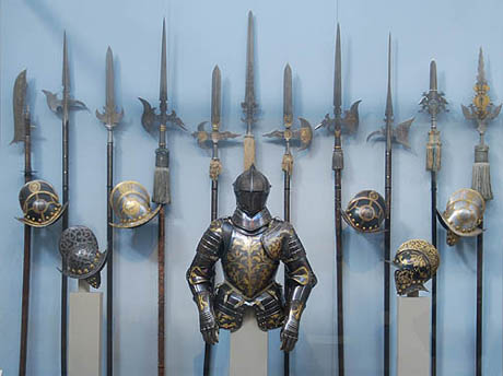 Medieval Knight Armor and Weapons
